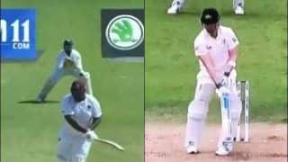 Ind vs WI: Rahkeem Cornwall Leaving The Ball Like Steve Smith During 2nd Test at Jamaica is Unmissable | WATCH VIDEO