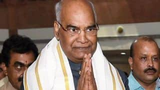 बारिश के कारण राष्ट्रपति रामनाथ कोविंद का गुमला और देवघर का कार्यक्रम हुआ रद्द