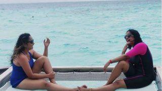 Bhojpuri Hotties Rani Chatterjee, Anjana Singh Vacay in Maldives, Shares Stunning Pictures