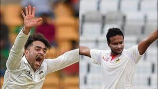 Bangladesh vs Afghanistan: Rashid Khan Surpasses Shakib-al-Hasan to Become Youngest Captain to Record 50+ And a 5 Wickets in The Same Test