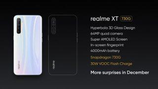 Realme XT 730G गेमिंग सेंट्रिक स्मार्टफोन भारत में दिसंबर में होगा लॉन्च