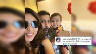 Ritika Sajdeh Roasts Yuzvendra Chahal, Who Objects to Being Removed From Family Photo Featuring Rohit Sharma | SEE POST