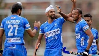 Indian Men's Hockey Team Continue Good Run, Beat Spain 5-1