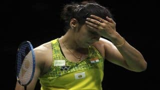 Korea Open Super 500: Saina Nehwal Knocked Out in 1st Round, Retires Hurt After Injury Against Kim Ga Eun