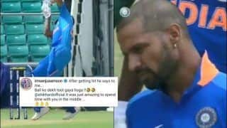 Sanju Samson Reveals What Shikhar Dhawan Said After Getting Hit by Bouncer: Ball Dekh Toot Gaya Hoga | WATCH VIDEO