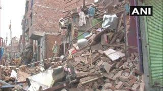 Delhi: 2 Die After 4-storey Building Collapses in Seelampur, Many Feared Trapped