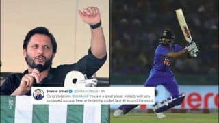 India vs South Africa: Former Pakistan Cricketer Shahid Afridi Praises Virat Kohli After Record-Breaking Innings at Mohali During 2nd T20I | SEE POST
