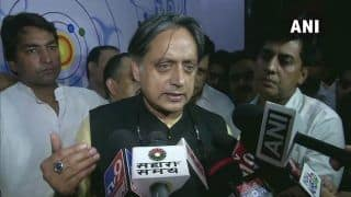 Shashi Tharoor Condemns Pakistan for Criticising India on Kashmir Issue