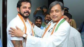 Sreesanth Expresses Desire to Defeat Shashi Tharoor on BJP Ticket in 2024 Lok Sabha Elections