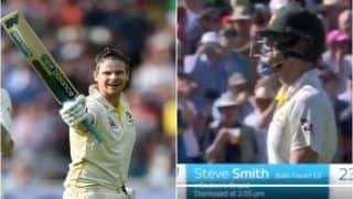 Ashes 2019: Steve Smith Receives Standing Ovation From England Cricket Fans After His Dismissal by Stuart Broad During 5th Test at Oval | WATCH VIDEO