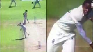 Ashes 2019: Jofra Archer Unnecessarily Throws The Ball at Steve Smith in Anger During 5th Test at Oval | WATCH VIDEO