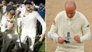 Ashes 2019: Steve Smith Mocks Jack Leach by Wearing Specs After Australia Retain Urn   WATCH VIDEO