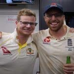 Ashes 2019: England Cricket Takes a Cheeky Dig at Steve Smith as Former Australia Captain Poses With Spinner Jack Leach After 5th Test at Oval | PIC