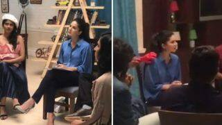 Sunny Leone Gets Pranked With Her Own Trick of 'Fake Bloody Hand', Her Reaction Will Leave You Into Splits