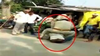 UP: Two Cops Beat Man, Drag Him on Road Over Alleged Traffic Violation; Suspended