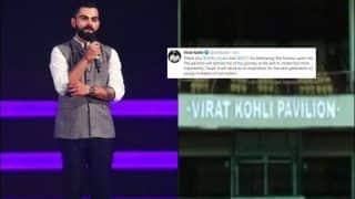 Virat Kohli Thanks DDCA, BCCI After Stand at Feroz Shah Kotla Stadium Gets Named After Him | SEE POST