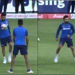 India vs South Africa: Virat Kohli Flaunts Off His Football Skills Ahead of 3rd T20I at M. Chinnaswamy, Bengaluru | WATCH VIDEO