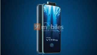 Vivo V17 Pro leaked promo image confirms dual pop-up selfie camera and in-display fingerprint sensor