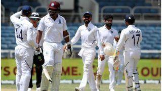 INDvWI: वेस्टइंडीज 117 रन पर सिमटा, दूसरी पारी में भारत की खराब शुरुआत
