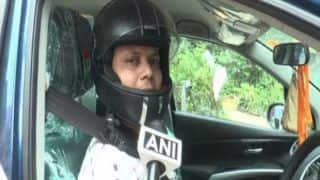 Traffic Rules Fiasco: Aligarh Man Issued a Challan For Not Wearing Helmet Inside Car