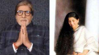 Amitabh Bachchan Pays a Heartfelt Tribute to Lata Mangeshkar on Her 90th Birthday