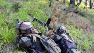 J&K: Encounter Breaks Out Between Security Forces And Terrorists in Bandipora