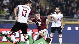 Andrea Belotti brace sinks AC Milan vs Torino