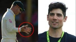 Former England Captain Alastair Cook Accuses David Warner of Ball-Tampering With Hand Strapping