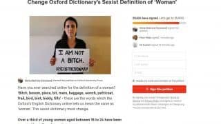 33,000 People Want Oxford Dictionary to Change Its Definition of 'Woman'. Here's Why