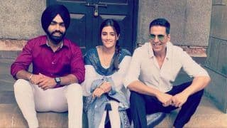 Akshay Kumar Shoots For His First Music Video 'Filhaal' With Nupur Sanon And Ammy Virk