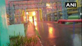 महाराष्ट्र: नवी मुंबई में ONGC के प्लांट में लगी भयंकर आग, चार लोगों की मौत