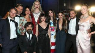 Emmy Awards 2019 Emotional Moment: Game of Thrones Cast Bids Final Goodbye And Receives Standing Ovation on Stage