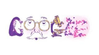 Google Doodle celebrates microbiologist Hans Christian Gram's 166th birthday