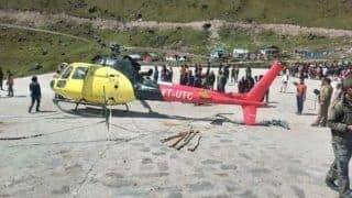 Uttarakhand: 6 Injured as Helicopter Crash-lands in Kedarnath During Take-off