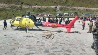 केदारनाथ में उड़ान भरते ही हेलिकॉप्टर हुआ क्रैश, बाल-बाल बचे श्रद्धालु
