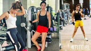 Hina Khan's Fitness Videos in Monsoons Will Motivate You to Hit The Gym