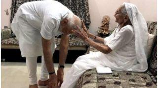PM मोदी मां हीराबेन का आशीर्वाद लेकर मनाएंगे 69वां जन्मदिन, सरदार सरोवर बांध का लेंगे जायजा