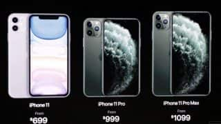 Apple iPhone 11 launched: iPhone 11, iPhone 11 Pro और iPhone 11 Pro Max हुए लॉन्च, फीचर्स से लेकर कीमत में बड़ा बदलाव
