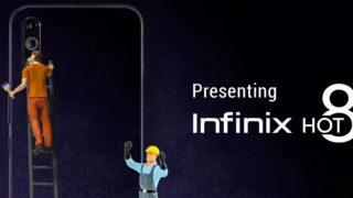 Infinix Hot 8 तीन रियर कैमरों के साथ 6,999 रुपये की कीमत में 4 सितंबर को होगा लॉन्च