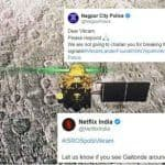 #ISROSpotsVikram: From Netflix India's Gaitonde Tweet to Nagpur Police's Challan, Here's What Twitterati is Laughing Out The Whole Day