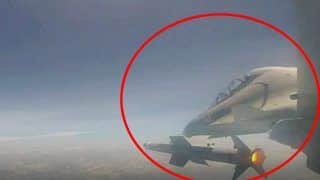 India Test Fires Air-to-air Missile 'Astra' From Sukhoi-30 MKI