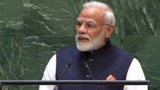 'World Has to Unite Against Terror,' Says PM Modi in His UNGA Address