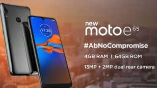 Moto E6S भारत में ड्यूल रियर कैमरा और 4GB रैम के साथ 16 सितंबर को होगा लॉन्च, कंपनी ने भेजे मीडिया इनवाइट