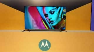 Motorola Smart TV range with Flipkart strategic partnership launched in India: Price starts at Rs 13,999