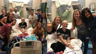 The Jonas Brothers And Priyanka Chopra Surprise Fan Who's Suffering From Cancer - Pics go Viral