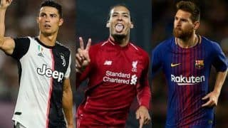 Virgil van Dijk, Lionel Messi, Cristiano Ronaldo to Fight it Out For FIFA Best Player's Award