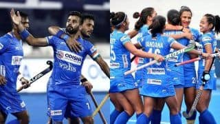 Indian Men's Hockey Team to Play Russia in Final Round of 2020 Tokyo Olympic Qualifiers; Women's Team Pitted in Tricky Draw Against USA