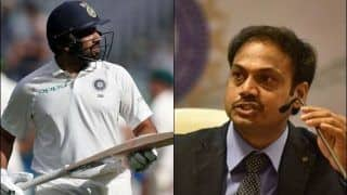 Rohit Sharma to be Considered as Test Opener, Suggests BCCI Chief Selector MSK Prasad