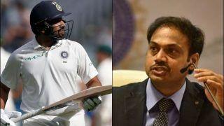 MSK प्रसाद ने कहा- रोहित शर्मा को टेस्ट में भी देना चाहते हैं ओपनिंग करने का मौका