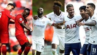 English Premier League Matchday 5: Chelsea Thrash Wolves, Liverpool Beat Newcastle United, Manchester United Edge Past Leicester City, Tottenham Hotspur Ransacks Crystal Palace, Manchester City Shocked By Norwich City